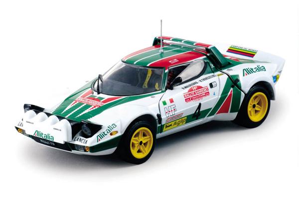 1:18 Sunstar Lancia Stratos HF Rally #1 Rally Monte Carlo 1980