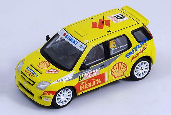 Decals 1//43 ref 1550 suzuki ignis s1600 baldacci rallye monte carlo 2004 rally