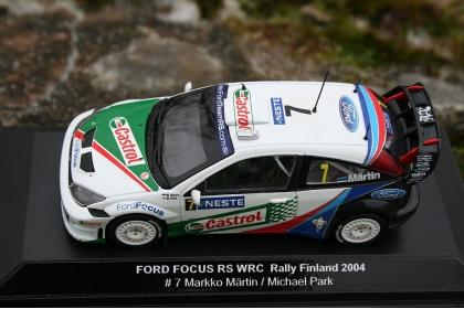 Ford Focus RS WRC Rally Catalunya 2004 markko Märtin 1:43 Minichamps nuevo
