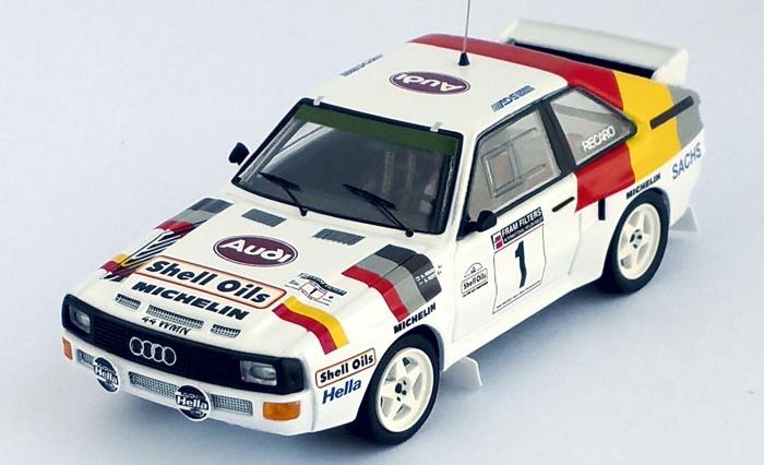 Audi Sport quattro Demuth Bond Lombard RAC Rallye 1986  1:43 Trofeu RRuk26 NEU