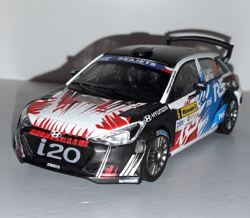 Rally  YPRES  2017 NEUVILLE DECAL  1//43 HYUNDAI i20  R5