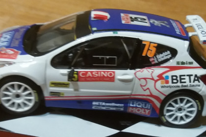 Rally Monte Carlo Burri//Duval 2013 1:43 Ixo Peugeot 207 S2000 #42