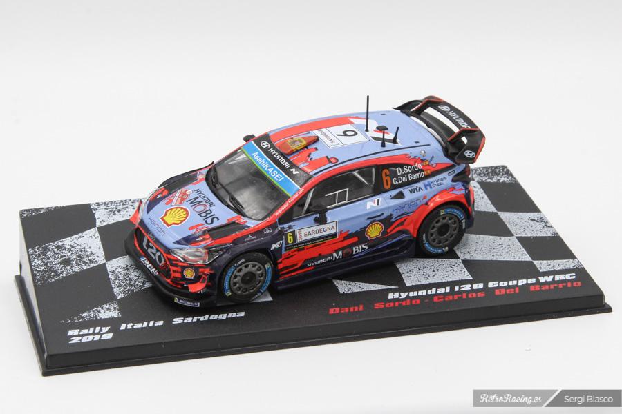 Hyundai i20 wrc   loeb rallye monte carlo 2019 ixo 1//43