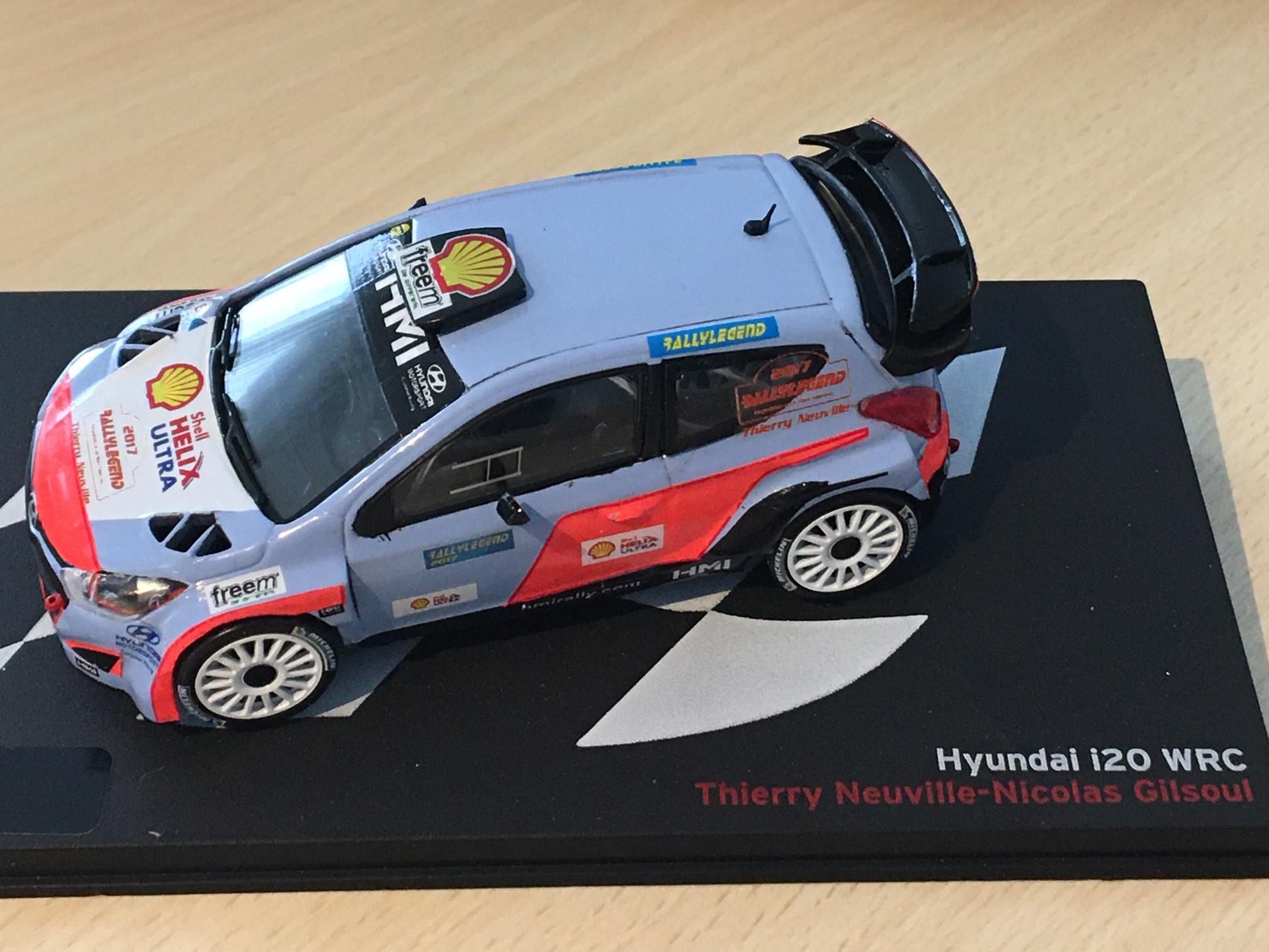 Hyundai i20 WRC #8 Rallye Monte-Carlo 2014 Sordo Marti 1:43 ixo