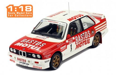 IXO 18RMC040A 18RMC040B BMW E30 M3 Tour de Corse 1988 actuaciones Lenne Chatriot 1:18