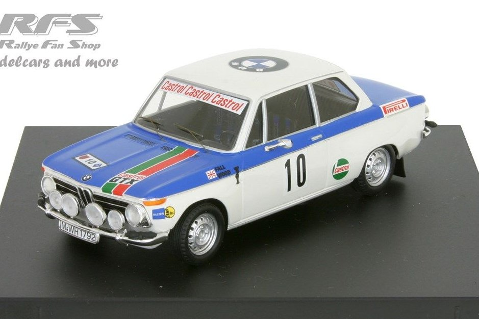 Bmw 2002 ti-warmbold//davenport-tap rally Portugal 1972-1:43 Trofeu 1702