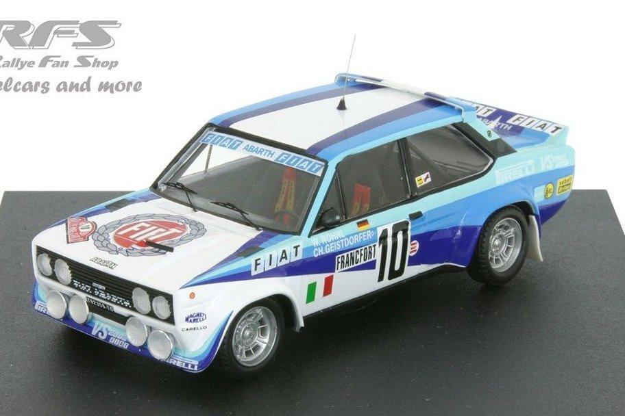 Fiat 131 Abarth-Rally de Monte Carlo 1980-Walter Röhrl 1:43 Trofeu 1407