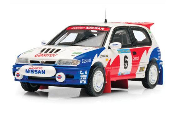 Nissan Sunny GTI-R - International Swedish Rally 1992 - Blomqvist