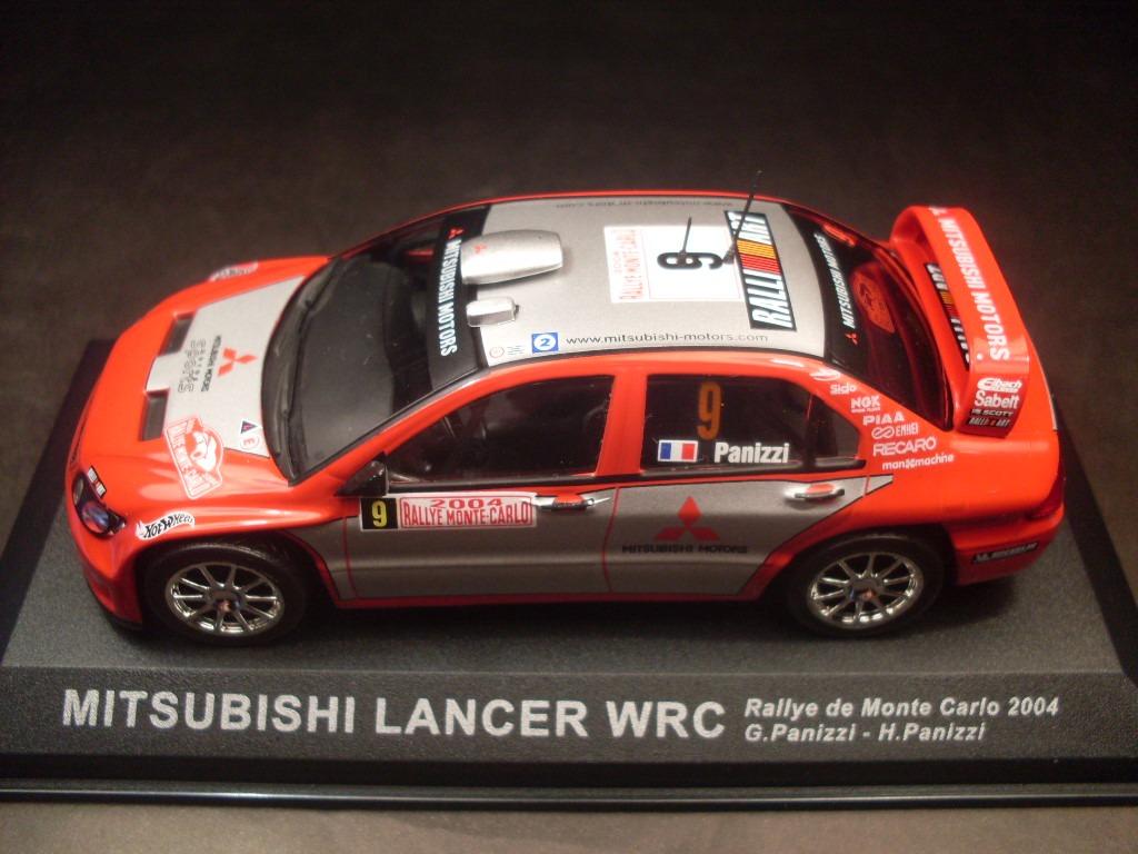 IXO ALTAYA 1//43 MITSUBISHI LANCER WRC RALLYE MONTECARLO 2004 G.PANIZZI H.PANIZZI