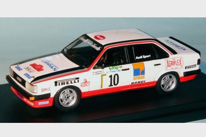 Audi 80 Quattro - Rallye dell'Isola d'Elba 1985 ...