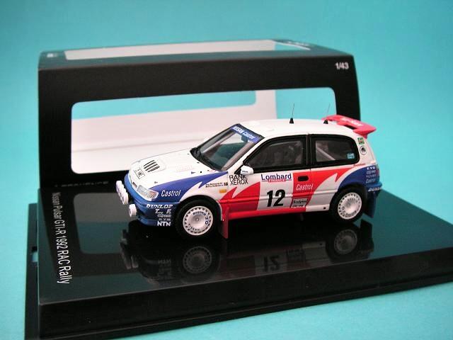 Nissan Sunny GTI-R - Lombard RAC Rally 1992 - Blomqvist - Melander