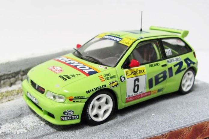 SEAT IBIZA KIT CAR RALLY MONTE CARLO//RAC 1996-99 PURAS//.. ALTAYA IXO 1:43