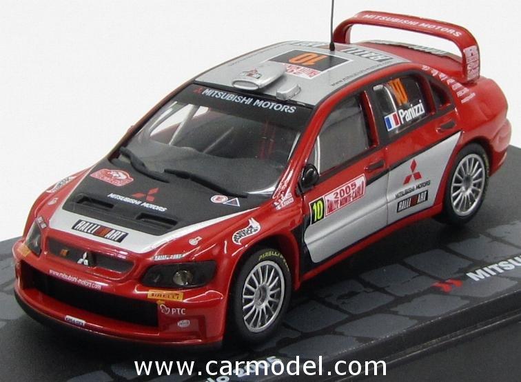 MITSUBISHI LANCER  WRC RALLY MONTE CARLO 2007 GARDEMEISTER ALTAYA IXO 1//43