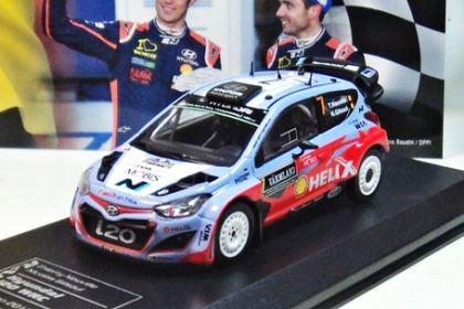 1:43 Ixo Hyundai i20 WRC #8 Rally Monte Carlo Sordo//Marti 2014