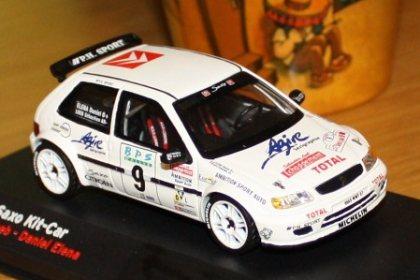Citroen Saxo kit car sébastien loeb rally Val d /'Agout 1998 1:43 Altaya Ixo