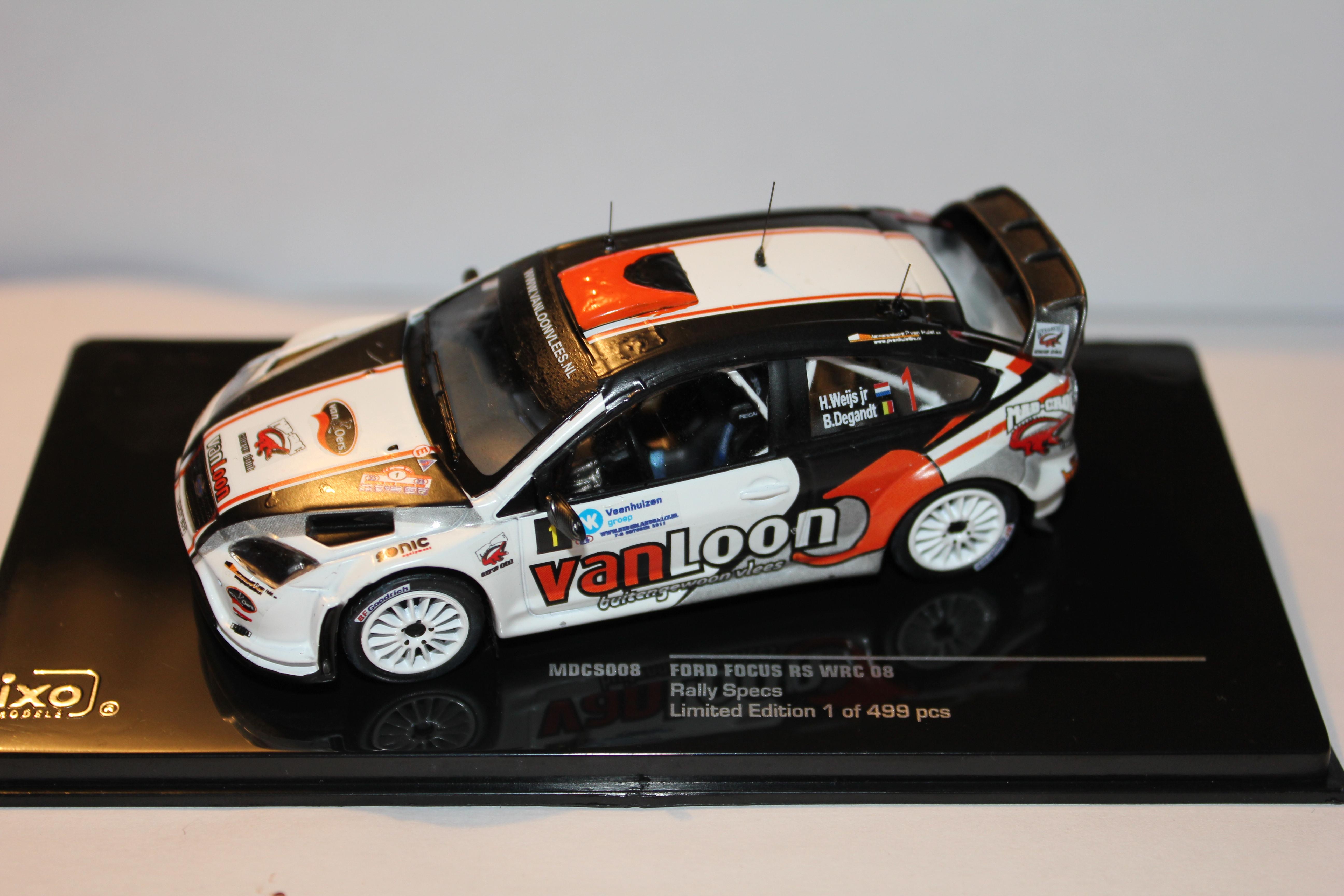 1//43 Ixo models RAM392 Ford Focus RS WRC '08