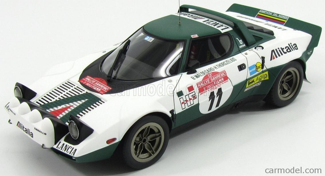 1:18 Minichamps Lancia Stratos winner rally monte carlo 1975