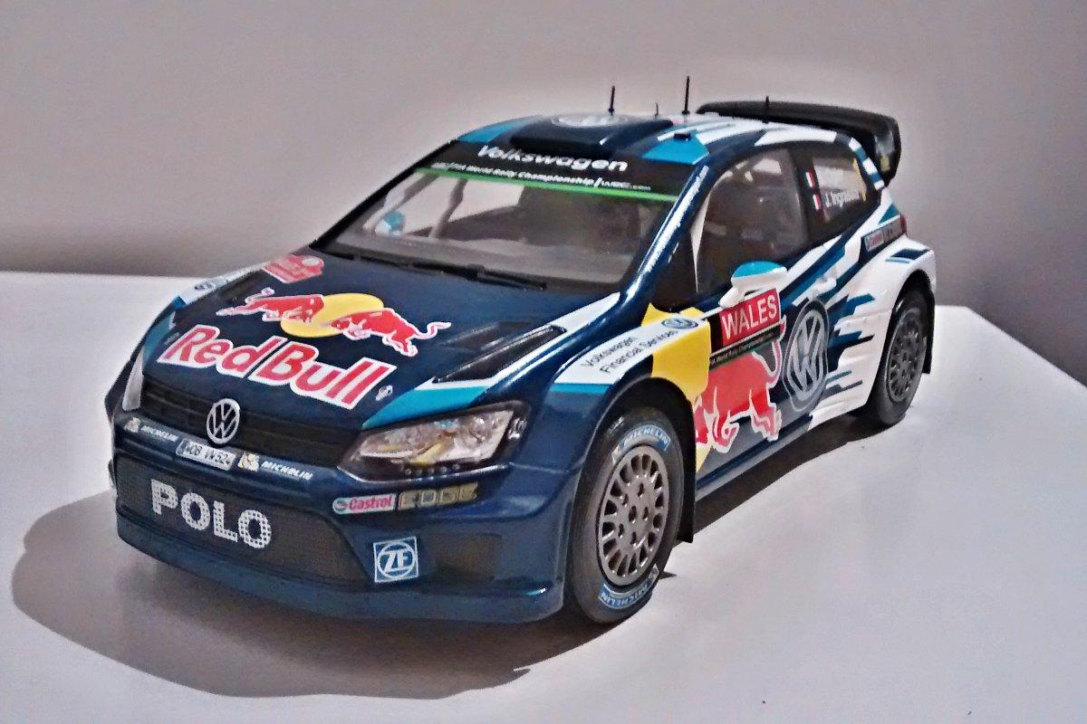 Volkswagen Polo R #2 Rally Tour De Corse 2016 Latvala Antilla IXO 1:18 18RMC018B