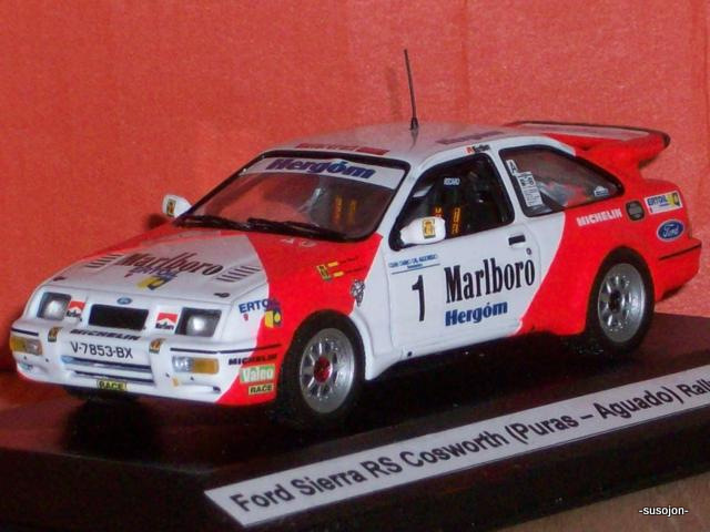 Rallye Corte Ingles 1991 Snijers Ford Sierra Cosworth Décals 1//43ème P