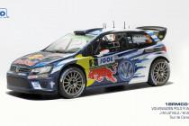 Volkswagen Polo R Wrc Winner Rally Tour De Corse 2016 Ogier IXO 1:18 18RMC018A