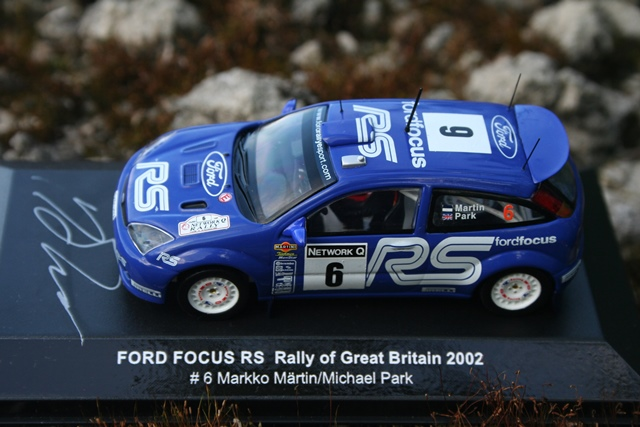 Ford Focus Rs Wrc 02 Network Q Rally Of Great Britain 2002
